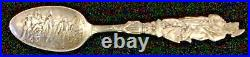 1893 Columbian Exposition Sterling Silver Spoon R. W. & S. 30 grams. 97 oz 6