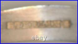 1894 California Midwinter Exposition Miner Sterling Silver Souvenir Spoon