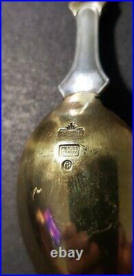 1917 Michelsen Copenhagen Denmark JUL Sterling Silver EPIHPHANY Christmas Spoon
