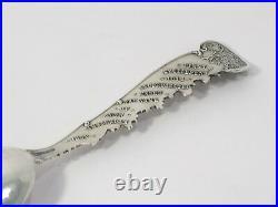 5.5 in Sterling Silver Mechanics Antique New York World's Fair 1939 Teaspoon