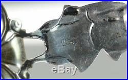 Antique Blackinton Sterling Silver King of Spades Bon Bon Spoon
