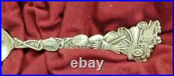 Antique Car sterling spoon Paye & Baker Mt Beacon Fishkill-On-The-Hudson, NY