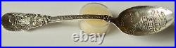 Antique Fort Dearborn Chicago ILL Sterling Silver Spoon Hyman Berg & Co