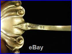 Antique Original Sterling Silver Enamel American Spoon