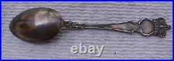 Antique Souvenir Spoon Sterling Silver Atlanta Georgia Maier & Berkele