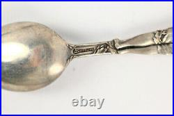 Antique Sterling Silver Rare Georgia Souvenir Spoons (2)