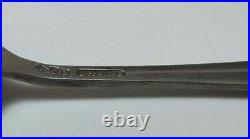 Antique Sterling Wheeling W Va Water Front Spoon figural souvenir silverware