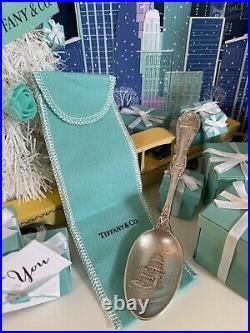 Antique Tiffany&Co NY Spoon Sterling Souvenir Brooklyn Bridge Grants Tomb I NY