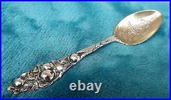Apple by Watson Mechanics 6 Sterling souvenir spoon Tyler Davidson Fountain