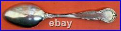Big Solid & Stunning Enamel St. Paul Minnesota Sterling Silver Souvenir Spoon