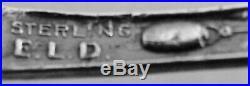 CRIPPLE CREEK, COLORADO STERLING SILVER FIGURAL SPOON made by EUGENE L. DEACON