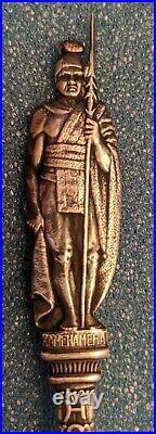 Charles Robbins Sterling Silver KAMEHAMEHA HONOLULU Souvenir Spoon 6