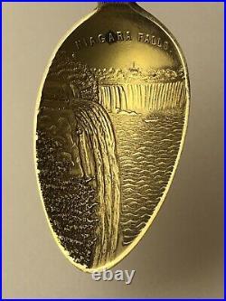 Edwardian Shepard sterling silver Roosevelt on horseback spoon JL 041121eFD