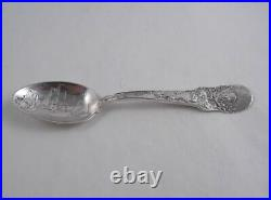 Gorham North Pole Expedition Sterling Silver Souvenir Spoon 911 Ship Bowl