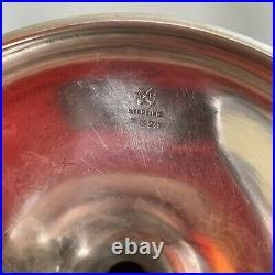 Joseph Mayer Brothers Seattle Sterling Silver LG Trumpet Vase 1905 Alaska Yukon