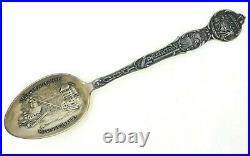 Kellogg Idaho Bunker Hill Mine Sterling Silver Souvenir Spoon