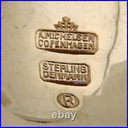 Michelsen Wedding Spoon Enamel Gilt Sterling Silver 1935 Denmark