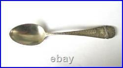 Minnehaha Falls F. Snelling Bullard Bros Sterling Silver Souvenir Spoon (#1057)