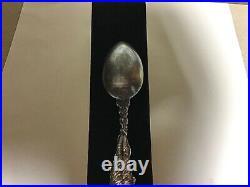 Miss Chicago 1893 Chicago Worlds Fair Gorham Sterling Souvenir Spoon