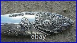 Mobile Alabama Monroe Park Mobile Bay Sterling Souvenir Spoon Old