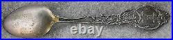 Monte Vista Colorado Vintage Sterling Silver Souvenir Spoon C. B. &H. Co