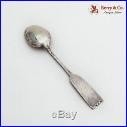 Navajo Good Luck Spoon Arrow Form Handle Sterling Silver