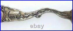 Outstanding Sterling Souvenir Spoon, MIDWAY MILL, MIZPAH MINE, TONOPAH NEV