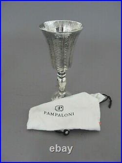 Pampaloni Bichierogra Italian Sterling Silver Goblet