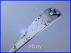RARE size Sterling DURGIN 4 1/2 Souvenir Spoon SALEM WITCH Halloween Theme