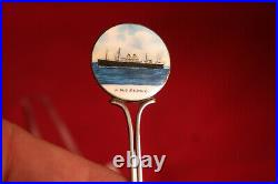 RMS Cedric Sterling Silver Souvenir Spoon TItanic White Star Line Interest