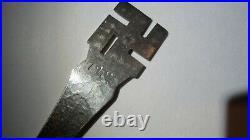 Scarce Sterling Silver Navajo Souvenir Spoon With Swastikas 5 1/8 Inches 1907