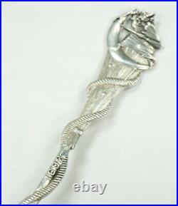 Souvenir Spoons Sterling Silver Gorham Salem Witch Sterling Silver DANL. LOW
