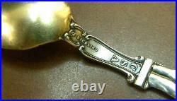 Sterling Robert E. Lee Souvenir Spoon, Confederate PETERSBURG VA. EXCELLENT
