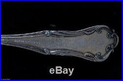 Sterling Silver Enamel Spoon Watermellon Americana Atlanta 6 1895