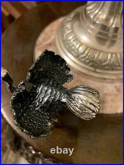 Sterling Silver Ostrich Desk Decoration