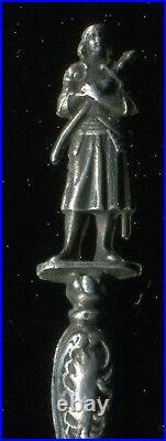 Sterling Silver paris st joan of arc Souvenir Spoon