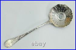 Tiffany And Co Sterling Sugar Sifter Hammered Vintage Silver 925 22 (njl018999)