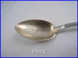 Watson Sterling Black Americana Richmond Virginia Souvenir Spoon Historical