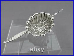 Whiting Vintage Sterling Silver Oval Twist Tea Strainer