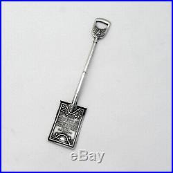 William Howard Taft PPIE Souvenir Shovel Shreve Sterling 1911